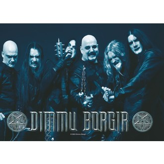 vlajka  Dimmu Borgir - Band Photo, HEART ROCK, Dimmu Borgir