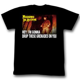 tričko pánské Nezvěstní v boji (Chuck Norris) - Premeditated Grenadine - AC