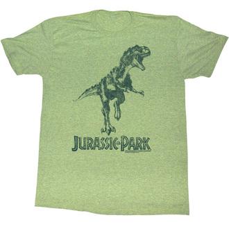 tričko pánské Jurský park - Green T-Rex - AC - JUR5125