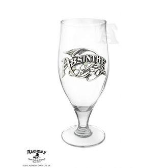 sklenička ALCHEMY GOTHIC - La Belle Epoch Absinthe Tumbler, ALCHEMY GOTHIC