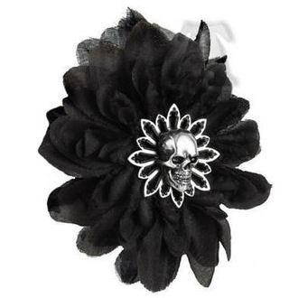 sponka do vlasů ALCHEMY GOTHIC - Black Dahlia, ALCHEMY GOTHIC