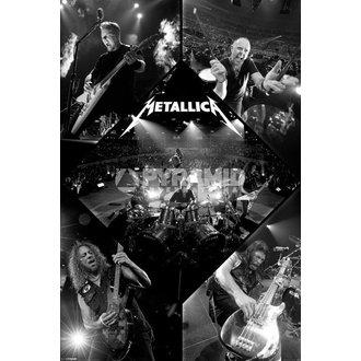 plakát Metallica - Live - PYRAMID POSTERS, PYRAMID POSTERS, Metallica