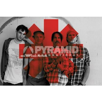 plakát Red Hot Chili Peppers - Red Asterix - PYRAMID POSTERS, PYRAMID POSTERS, Red Hot Chili Peppers