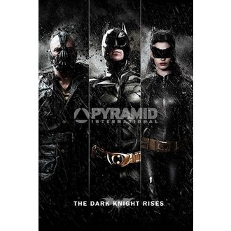 plakát Batman - The Dark Knight Rises - Three - PYRAMID POSTERS - PP32866