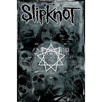plakát Slipknot - Pentagram - PYRAMID POSTERS, PYRAMID POSTERS, Slipknot