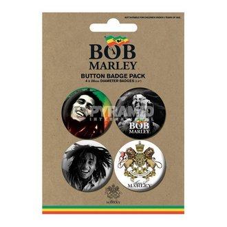 placky Bob Marley - Photo - PYRAMID POSTERS, PYRAMID POSTERS, Bob Marley