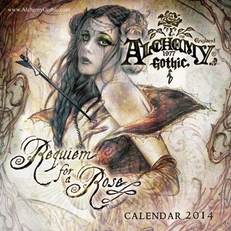 kalendář na rok 2014 Alchemy - PYRAMID POSTERS, ALCHEMY GOTHIC