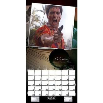 kalendář na rok 2014 Scarface - PYRAMID POSTERS