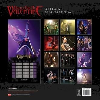 kalendář na rok 2014 Bullet For My Valentine - PYRAMID POSTERS, PYRAMID POSTERS, Bullet For my Valentine