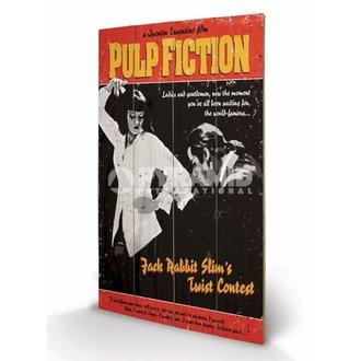 dřevěný obraz Pulp Fiction - Twist Contest - PYRAMID POSTERS - LW10496P