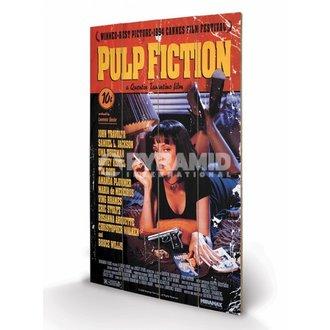 dřevěný obraz Pulp Fiction - Cover - PYRAMID POSTERS - LW10497P
