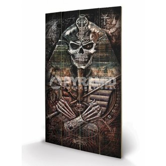 dřevěný obraz Alchemy - Thoth Codex - PYRAMID POSTERS, ALCHEMY GOTHIC