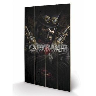 dřevěný obraz Spiral - Steampunk Bandit - PYRAMID POSTERS, SPIRAL