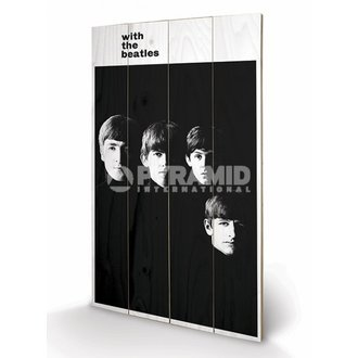 dřevěný obraz The Beatles - With The Beatles - PYRAMID POSTERS - LW10959P