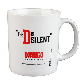 hrnek Django - Unchained - The D Is Silent - PYRAMID POSTERS, PYRAMID POSTERS