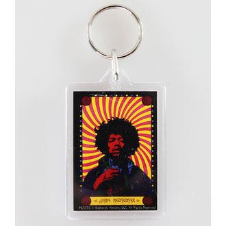 klíčenka (přívěšek) Jimi Hendrix - Pyschedelic - PYRAMID POSTERS, PYRAMID POSTERS, Jimi Hendrix