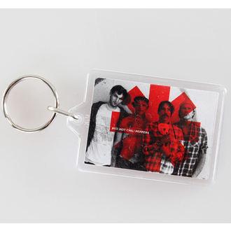 klíčenka (přívěšek) Red Hot Chili Peppers - Logo - PYRAMID POSTERS, PYRAMID POSTERS, Red Hot Chili Peppers
