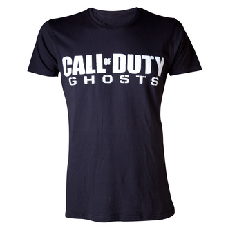 tričko pánské Call Of Duty Ghosts - Logo - Black - LIVE NATION, LIVE NATION