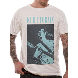 tričko pánské Kurt Cobain - Nirvana - Standing Blue Photo - LIVE NATION - RTKCO0102