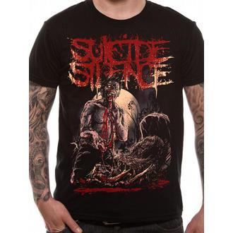 tričko pánské Suicide Silence - Grave - Black - LIVE NATION, LIVE NATION, Suicide Silence