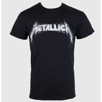 tričko pánské Metallica - Spiked Logo - Black - RTMTLTSBSPI