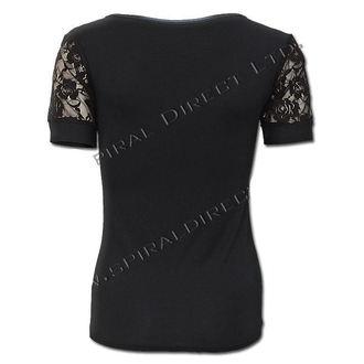 tričko dámské SPIRAL - Rose Skull - T081F730