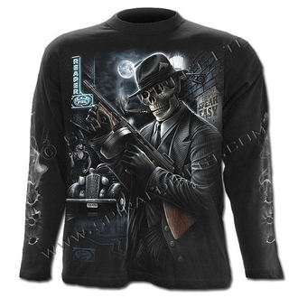 tričko pánské s dlouhým rukávem SPIRAL - Gangster