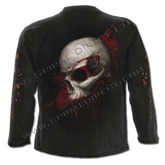 tričko pánské s dlouhým rukávem SPIRAL - Skull Shock - WM122700