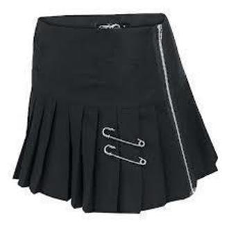sukně dámská VIXXSIN - Star - Black - POI018