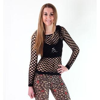 tričko dámské (top) POIZEN INDUSTRIES - Nett - Black