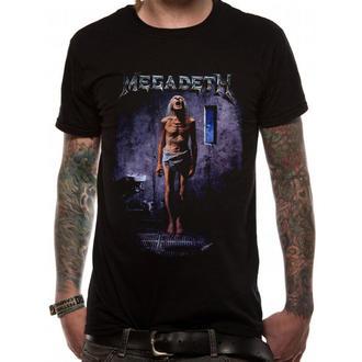 tričko pánské Megadeth - COUNTDOWN TO EXTINCTION - PLASTIC HEAD - Black, PLASTIC HEAD, Megadeth