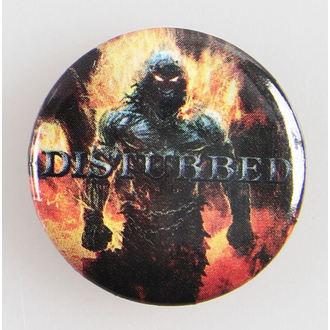 placky Disturbed - Indestruct 5 Btn - BRAVADO, BRAVADO, Disturbed
