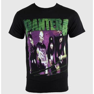 tričko pánské Pantera - Group  Sketch - Blk - BRAVADO - 31511232