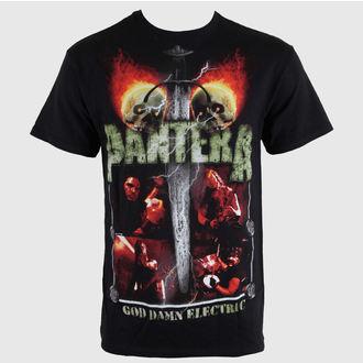 tričko pánské Pantera - Lightning Skulls - BRAVADO, BRAVADO, Pantera