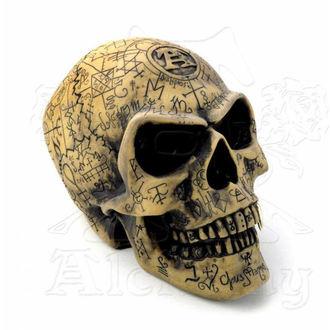 dekorace Alchemy Gothic - Omega Skull, ALCHEMY GOTHIC