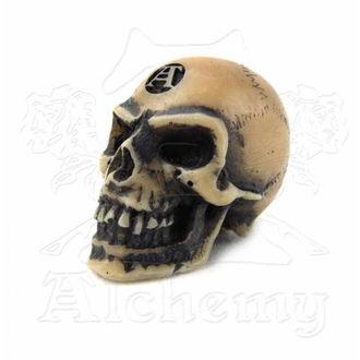 dekorace Alchemy Gothic - Lapillus Worry Skull