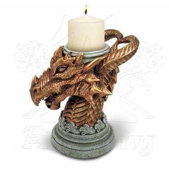 dekorace (svícen) Alchemy Gothic - Signum Draconis, ALCHEMY GOTHIC