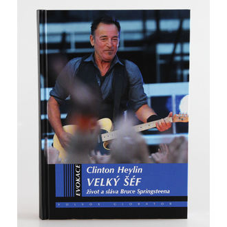 kniha Velký šéf - život a sláva Bruce Springsteena