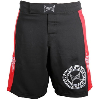 kraťasy pánské TAPOUT - Training Center - Black/Red
