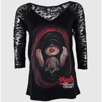 tričko dámské s dlouhým rukávem SULLEN - Lost Love - BLK