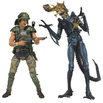 figurka Alien (Vetřelec) - Hicks vs. Battle Damaged Blue Warrior - 51396