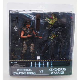 figurka Alien (Vetřelec) - Hicks vs. Battle Damaged Blue Warrior