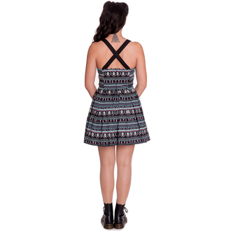 šaty dámské HELL BUNNY - Inca Mini, HELL BUNNY
