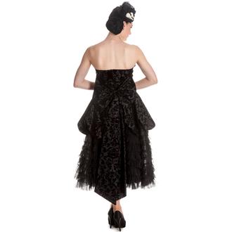 šaty dámské HELL BUNNY - Lavintage - Black, HELL BUNNY