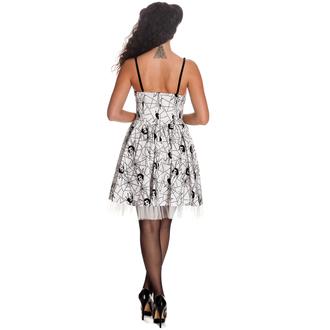 šaty dámské HELL BUNNY - Mary Jane - WHT, HELL BUNNY