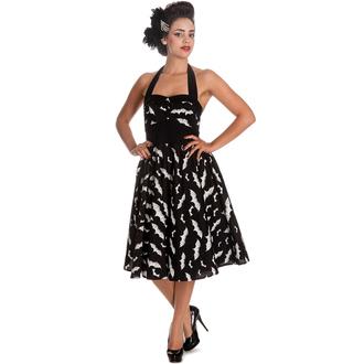 šaty dámské HELL BUNNY - Bat 50´s - Blk/Wht - 4290