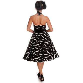 šaty dámské HELL BUNNY - Bat 50´s - Blk/Wht, HELL BUNNY