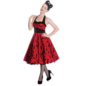 76c2e91b1ccf šaty dámské HELL BUNNY - Bat 50´s - Red Blk - 4290 - metalshop.cz