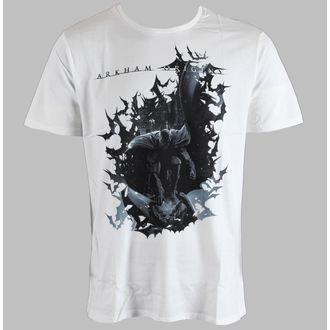 tričko pánské Arkham - Dark Bats - Blanc - LEGEND - HARKOTS 1302