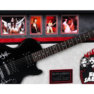 podepsaná kytara BLACK SABBATH
